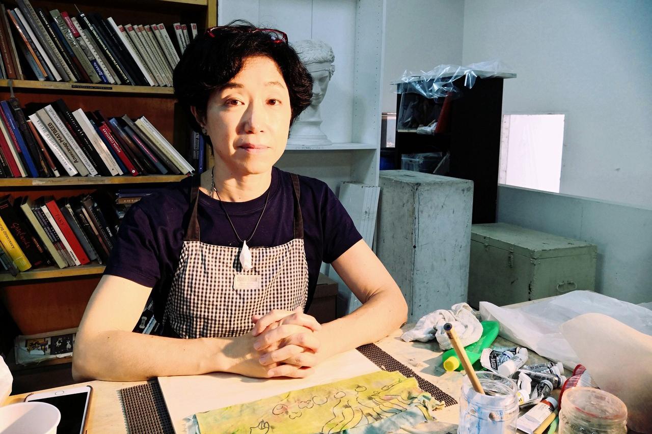 木版画家 小林圭子さん