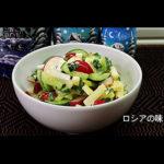 ラディッシュときゅうりのサラダの作り方。