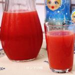 ロシアの飲み物 モルス の作り方。